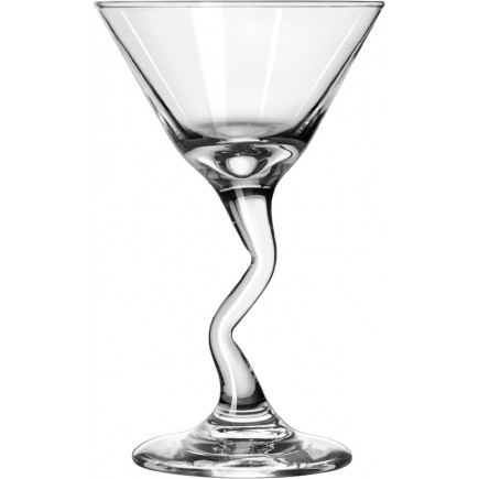 12 Martini glasses, Z-Stems Libbey - 222ml