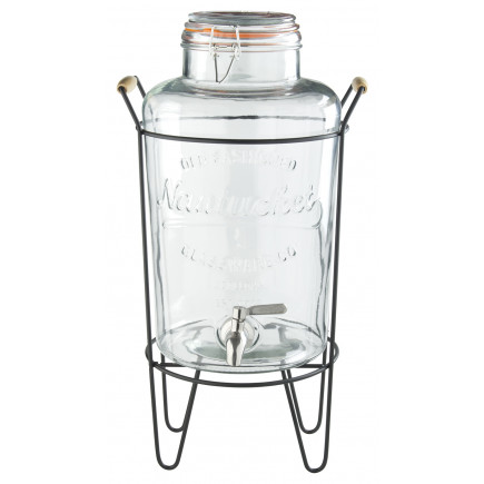 Glass dispenser with mount, Prime Bar - 8l