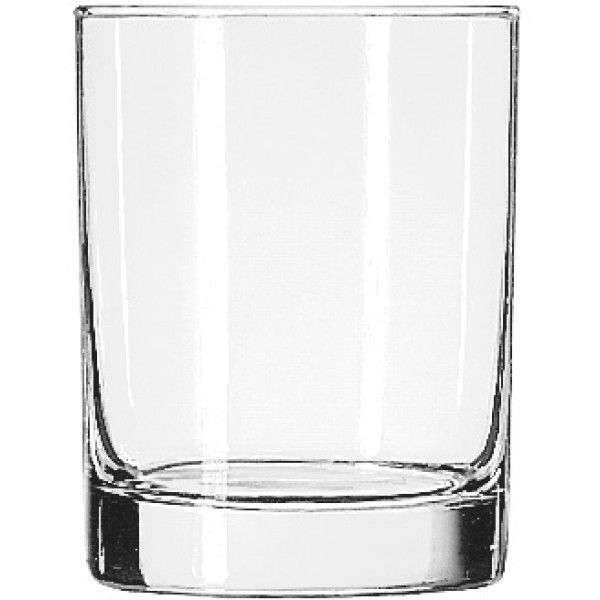 Double Old Fashioned Glass Heavy Base Libbey 399ml