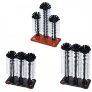 Glass cleaning brush - 1-, 2-, 3-piece