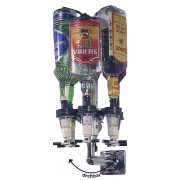 Wall rotating rack - single (0,7l-1,0l)