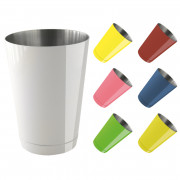Speedshaker coloured, bottom cap - stainless steel (450ml)