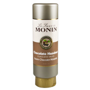 Chocolate Hazelnut Sauce - Monin (500ml)