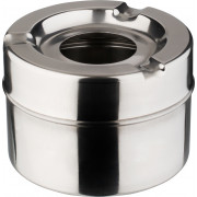 Wind ashtray - stainless steel (10cm)
