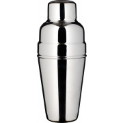 Cocktail shaker, BAR AID, polished stainless steel, tripartite (500ml)