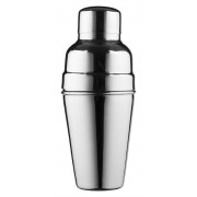 Cocktail shaker, BAR AID, dull stainless steel, tripartite (500ml)