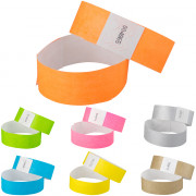 Tystar wristbands - 2,5 x 25cm (25pcs.)
