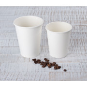 Coffee cups, Huhtamaki, paper, white - 0,2l / 0,3l / 0,4l