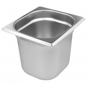 Gastronomy-standard container - stainless steel (GN 1/6)