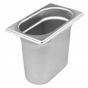 Gastronomy-standard container - stainless steel (GN 1/9)