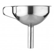 Bottle funnel with strainer - stainless steel