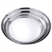 Tray, stainless steel - smooth