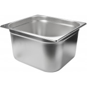 Gastronomy-standard container 200mm depth - stainless steel (GN 1/2)