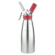 "iSi cream siphon ""Gourmet Whip PLUS"" - stainless steel (0,25l, 0,5l, 1,0l)"