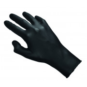 Nitrile gloves, black - powderfree (100 pcs.)
