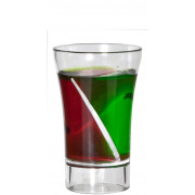 Econ Siptail Twist Shotglass, BB Plastics - 30ml