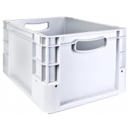 Transport crate, grey - plastic