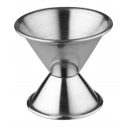 Double jigger - stainless steel (0,5/1,0oz.)