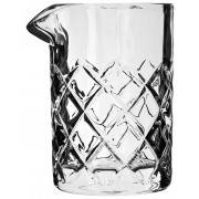 Mixing glass Diamond cut with pouring lip, Prime Bar - 640ml