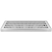 Drip Tray long (20x50x3cm) - stainless steel