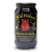 Wild Hibiscus in Syrup 50 Flowers, 1100g