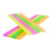Drinking straws, Jumbo (8x255mm), neon