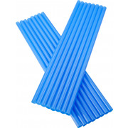 Drinking straws, Jumbo (8x255mm), blue