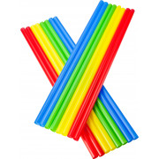 Drinking straws, Jumbo (8x255mm), coloured