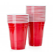 Disposable Cup Red Cup, SOLO - 473ml (50 pcs.)