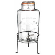 Nantucket punch barrel with stand, 8,5l
