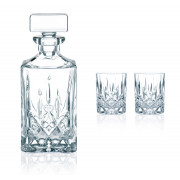 Tripartite Whisky-Set, Noblesse Nachtmann