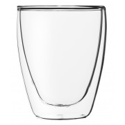 Cappuccino glass without handle, double-walled, Lounge - 0,23l