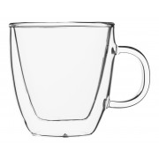 Doppio glass with handle, double-walled, Enjoy - 0,15l