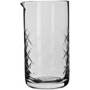Mixing glass diamond cut tall, seamless with pouring lip, Prime Bar - 890ml