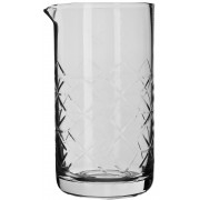 Mixing glass Asanoha tall with pouring lip, Prime Bar - 930ml