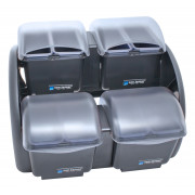 Garnish Center - 8 trays, ca. 4,8l, The Dome®, San Jamar