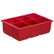 Ice tray cubes (5,0cm) - rot