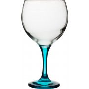 Balloon glass Gin&Tonic, blue stem, Gürallar - 645ml