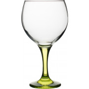 Balloon glass Gin&Tonic, green stem, Gürallar - 645ml