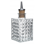 Dash Bottle Big Square - cork pourer