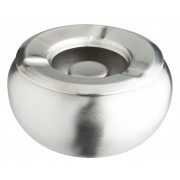 Wind ashtray Bowl, stainless steel (10cm)
