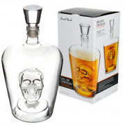 Final Touch Skull Decanter, 1,0l