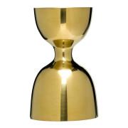 Bell jigger, gold look - stainless steel (30/60ml)
