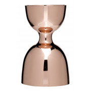Bell jigger, copper look - stainless steel (30/60ml)
