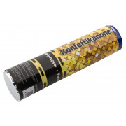 Confetti shooter, foil strips gold 20cm