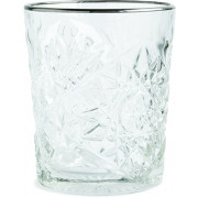 Double Old Fashioned, Hobstar with platinum-colored Rim, Libbey - 355ml