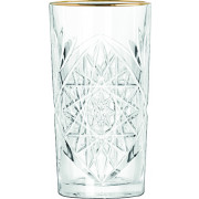 Cooler, Hobstar with Gold Rim, Libbey - 473ml