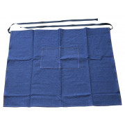 Bar Apron, denim, 70x90cm - dark blue