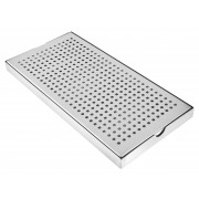 Drip tray (30x15x2cm) - Stainless Steel