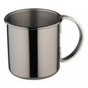 Moscow Mule mug, stainless steel, gunmetal black - 500ml